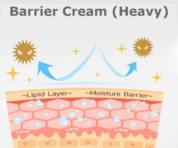barrier cream heavy