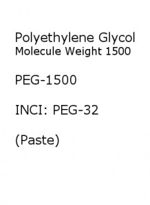 Polyethylene Glycol 1500 (PEG1500)