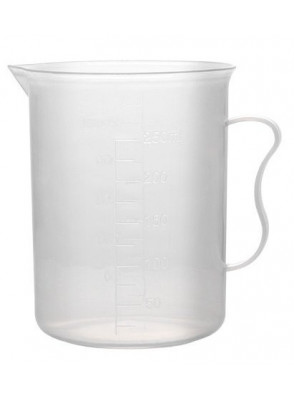 บีกเกอร์พลาสติก PP Beaker 500มล.