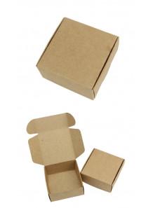 กล่องกระดาษแข็ง ใส่สบู่ ไม่มีลาย