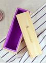 โมลด์ แม่พิมพ์สบู่ ซิลิโคน 1.2กิโลกรัม พร้อมกล่องไม้ ฝาปิด