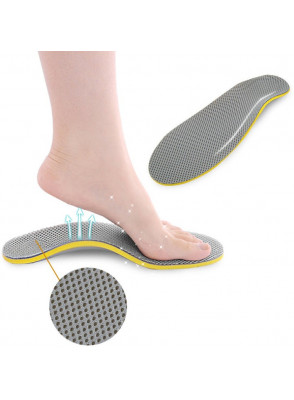 แผ่นรองเท้า กันกระแทก แก้ปวดเท้า EVA ขนาด L (1คู่)