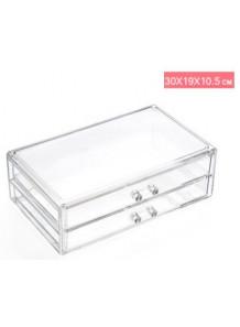 กล่องลิ้นชักอะคริลิค 2ชั้น 30x19x10.5cm