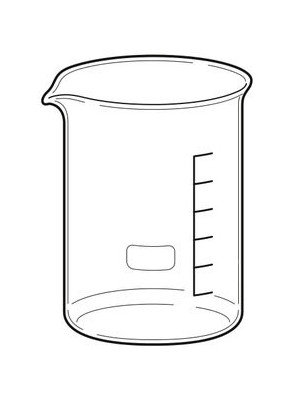Beaker บีกเกอร์ แก้ว 150มล.