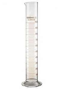 กระบอกตวง แก้ว 25มล. (Graduated Cylinder)