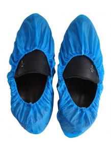 ถุงคลุมรองเท้า คลีนรูม ชนิดธรรมดา (100คู่)