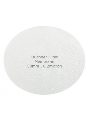 Buchner Filter Membrane 50mm 0.2micron (50pcs/pack)