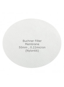 Buchner Filter Membrane 50mm 0.22micron Nylon66 (50pcs/pack)