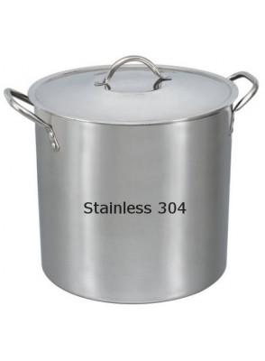 ถังแสตนเลส 304 ผลิตปั่นผสมกวนครีม 40x40ซม (50ลิตร)