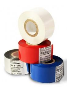 ผ้าหมึก สีน้ำเงิน สำหรับ เครื่องพิมพ์วันที่ 30มม x 100เมตร