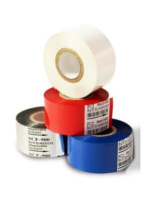 ผ้าหมึก สีน้ำทอง สำหรับ เครื่องพิมพ์วันที่ 30มม x 100เมตร