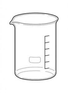 Beaker บีกเกอร์ แก้ว 1000มล.