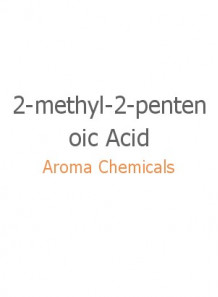 2-methyl-2-pentenoic Acid