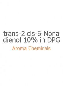trans-2 cis-6-Nonadienol 10% in DPG
