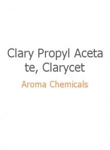 Clary Propyl Acetate, Clarycet