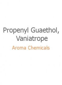 Propenyl Guaethol, Vaniatrope