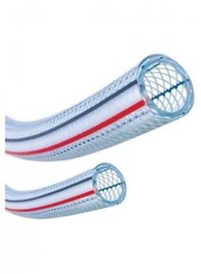 ท่ออ่อน PVC เสริมด้ายถัก 22x15มม. (อาหาร, เครื่องสำอาง)