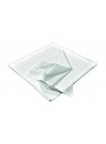 Cleanroom microfiber wiper ผ้าเช็ดไร้ฝุ่น (22x22ซม, 100ผืน/ถุง)