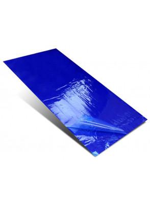 """แผ่นกาวดักฝุ่น (Sticky Mat) 24x36"""" 30ชั้น สีน้ำเงิน"""