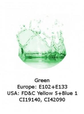 Green Powder (CI19140, CI42090) (Water-Soluble)