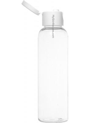 ขวดพลาสติกใส ฝาพับ ขาว 120ml