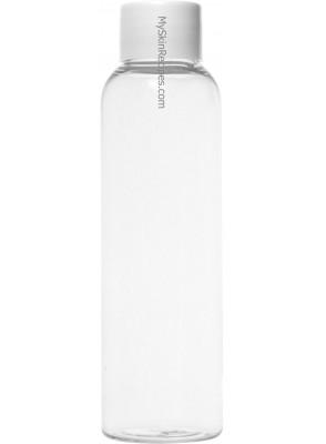 ขวดพลาสติกใส ฝาสกรู ขาว 120ml