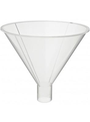 กรวยกรองสาร พลาสติก 120มม. (Funnel) ปลายใหญ่