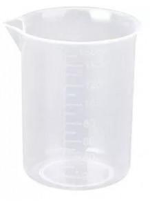 บีกเกอร์พลาสติก PP Beaker 150มล. (ไม่มีหูจับ)