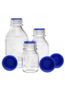 ขวดแก้ว Reagent Borosilicate สีใส 1000ml