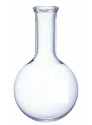 แก้ว ฟลาสก์กลม ก้นกลม (ปากแคบ) 100ml