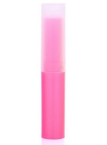 หลอดลิปสติก ลิปบาล์ม ทรงสูง 4g สีชมพู