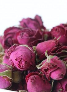 ดอกกุหลาบแห้ง (เล็ก, หุบ)