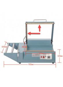 (อะไหล่) ลวดตัดควาามร้อน เครื่องตัด ชริ้งฟิล์ม แบบม้วน (1ชุด ชิ้นบน ชิ้นล่าง)