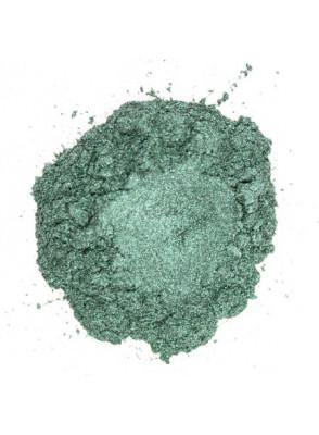 Silver Dark Green Mica เขียวเข้ม เหลือบเงิน (ขนาด A)