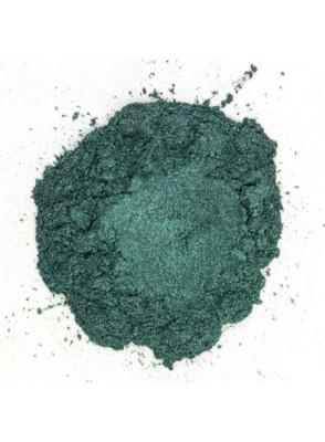 Blue Dark Green Mica เขียวเข้ม อมฟ้า (ขนาด A)