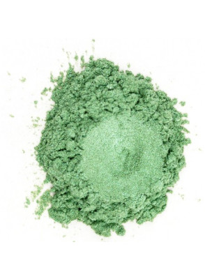 Metallic Green Mica เขียว เหลือบเงิน (ขนาด A)