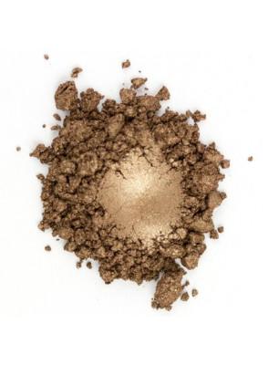 Copper Brown Mica น้ำตาลเข้ม เหลือบทอง (ขนาด A)