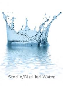 น้ำกลั่น ปราศจากเชื้อ