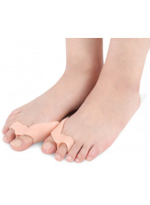 ซิลิโคน ขั้นนิ้วโป้ง ป้องกันการเสียดสี สีเนื้อ