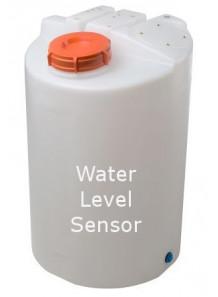 ถังเก็บน้ำ DI ขนาด 50ลิตร พร้อมเซ็นเซอร์ระดับน้ำ