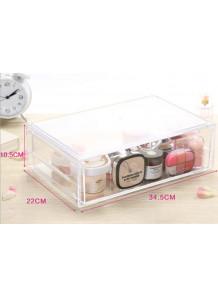 กล่องใส่ของอะคริลิค 1ชั้น 1ช่อง 34.5x22x10.5cm