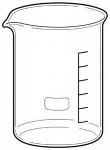 Beaker บีกเกอร์ แก้ว 200มล.