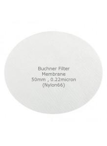 Buchner Filter Membrane 50mm 0.22micron Nylon66 (50pcs/pack)