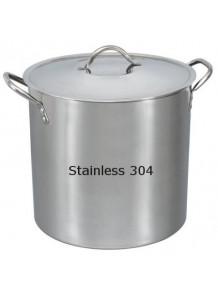 ถังแสตนเลส 304 ผสมครีม 35ซม x 35ซม (33ลิตร)
