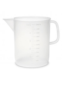 บีกเกอร์พลาสติก PP Beaker 5000มล.