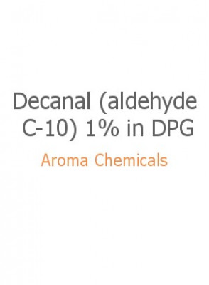 Decanal (aldehyde C-10) 1% in DPG
