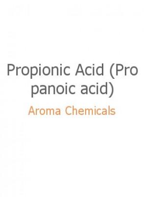 Propionic Acid (Propanoic acid), FEMA  2924