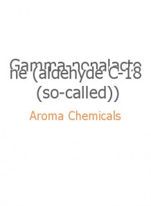 Gamma-nonalactone (aldehyde C-18 (so-called))