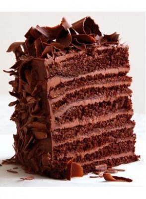 Chocolate Devil Food Cake