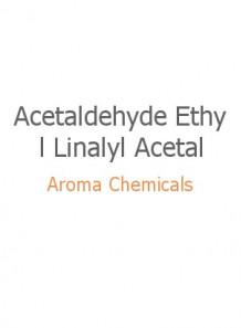 Acetaldehyde Ethyl Linalyl Acetal